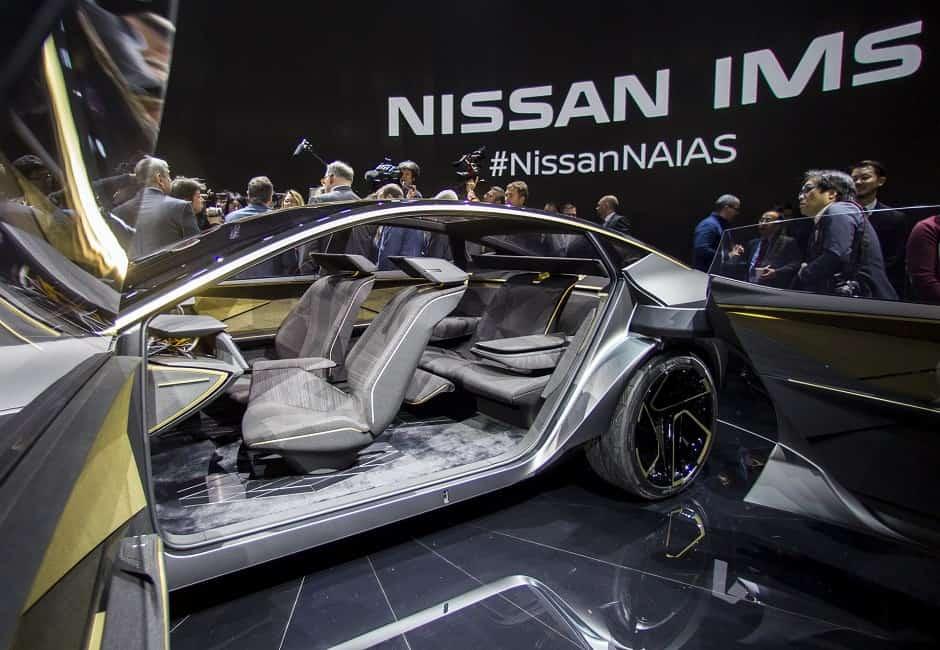 داخلية سيارة نيسان 2020