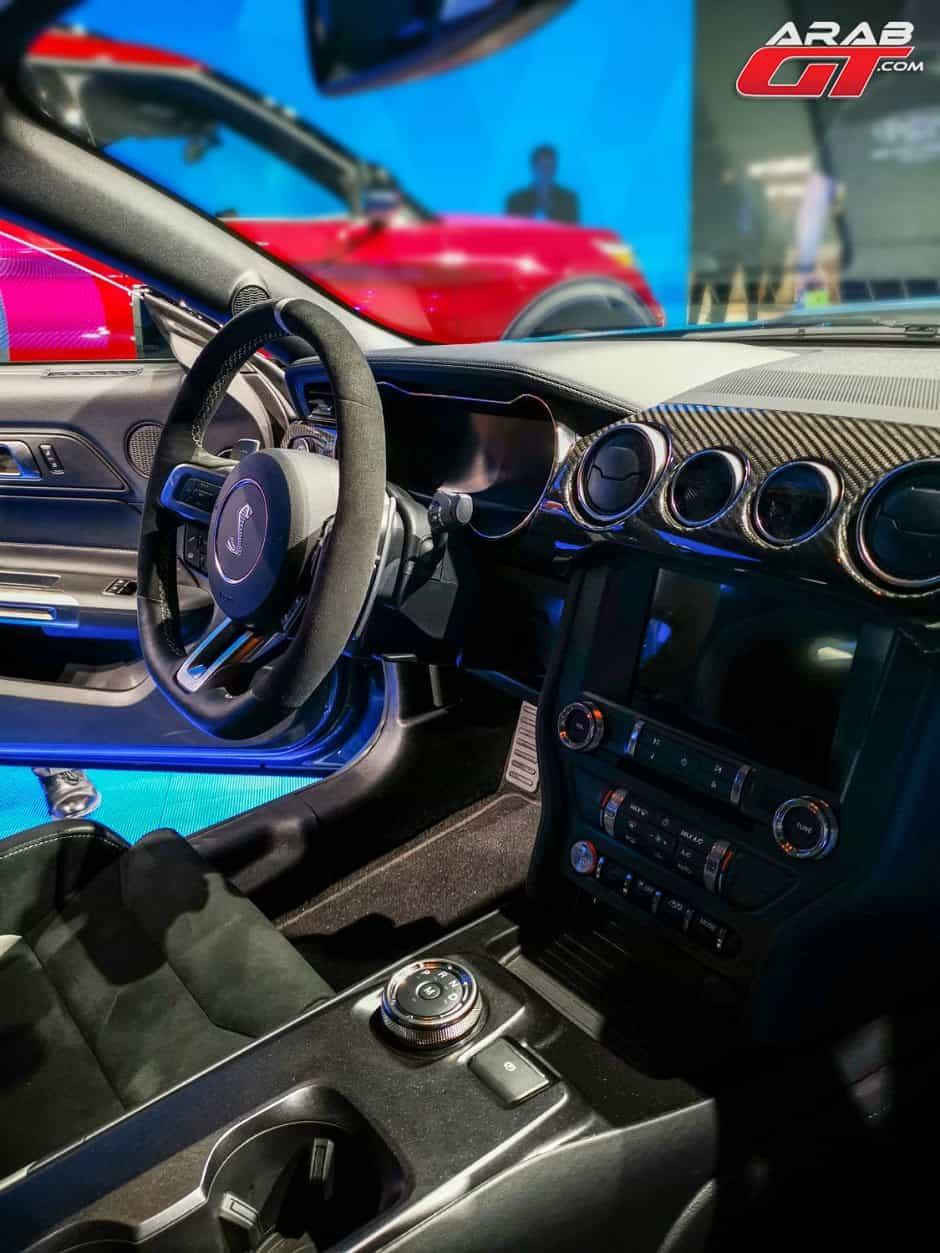 داخلية شيلبي GT500 2020