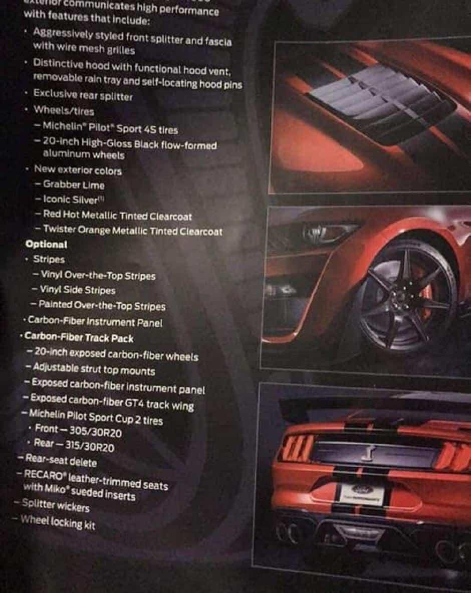 سيارة فورد موستنج 2020
