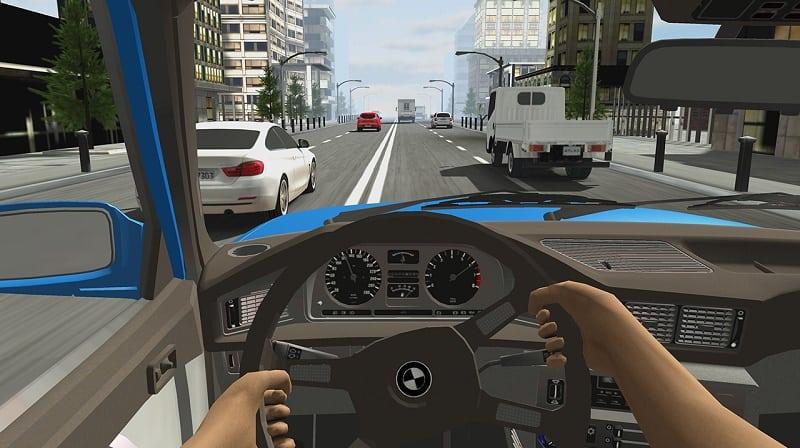 لعبة السيارات Racing in Car