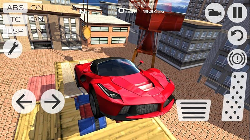 لعبة سيارات Extreme Car Driving Simulator