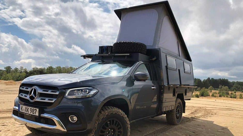 مرسيدس شاحنة اكس كلاس
