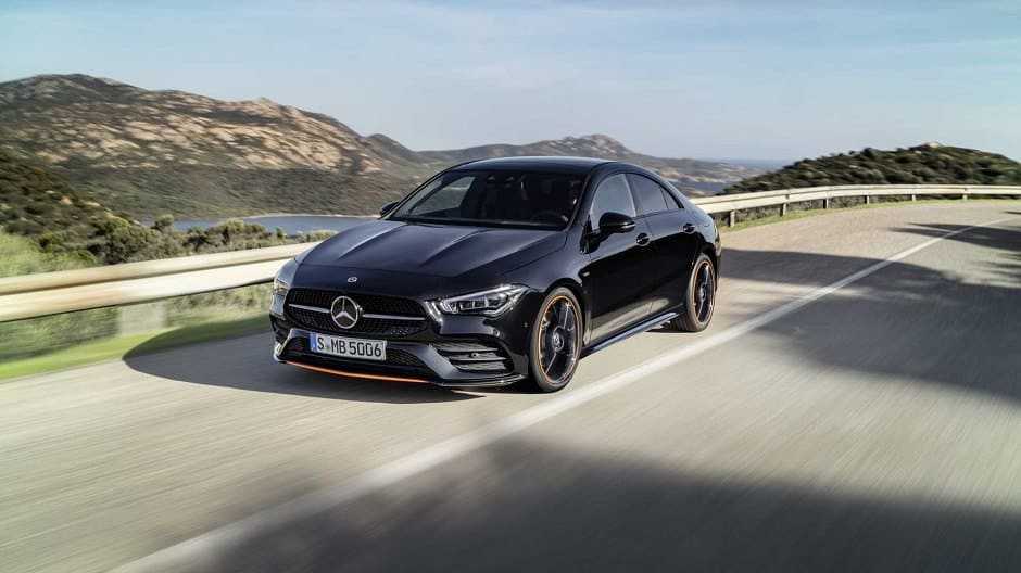 2020 mercedes-cla Edition Orange