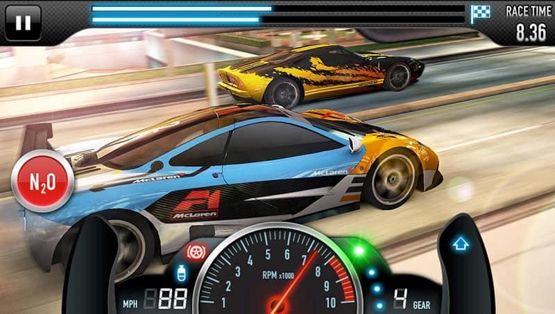 CSR لعبة سيارات