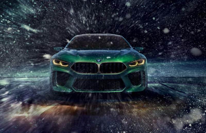 سيارات بي إم دبليو إم 8 جران كوبيه 2020