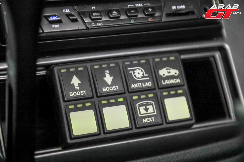 شاشة سيارة معدلة