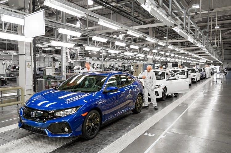مصنع سيارات يابانية