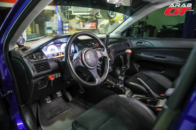 مقود ميتسوبيشي ايفو 9