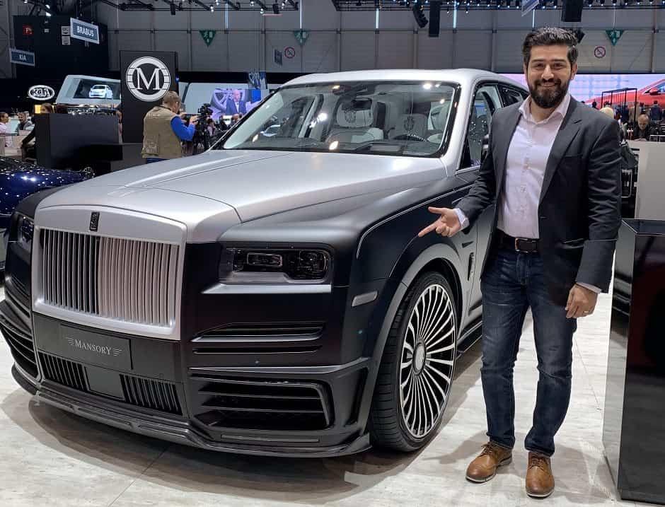 مليون دولار امريكي سعر سيارة رولز رويس كالينان مانسوري المعدلة