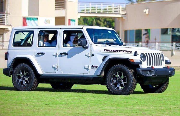 سيارة الشيخ محمد بن زايد