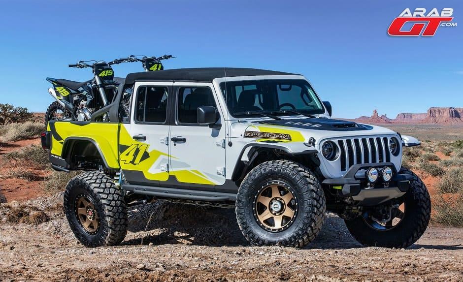 بيك اب Jeep Flatbill