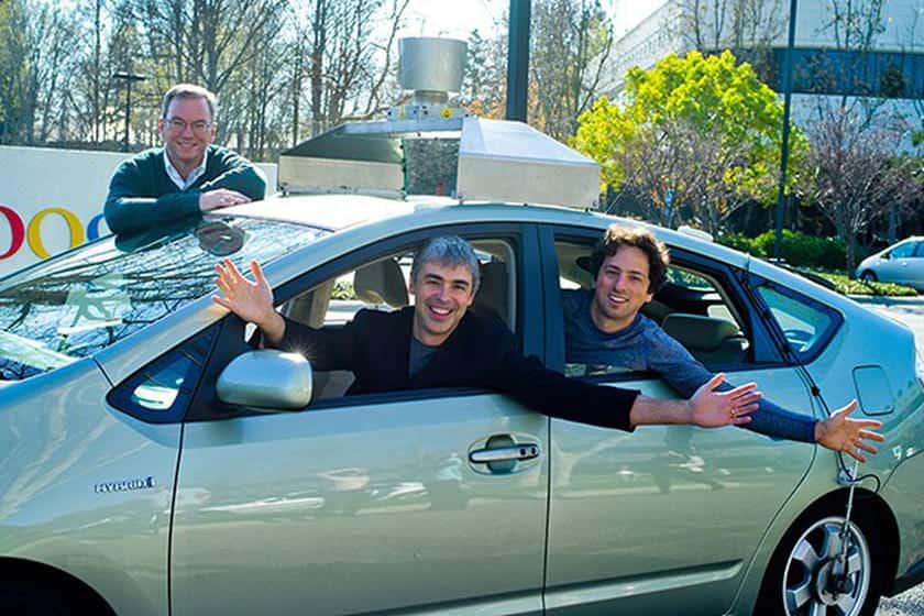 تويوتا بريوس سيارة ملياردير مؤسس موقع جوجل