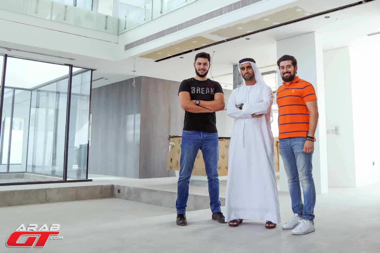 مهندس معماري أحمد بوخش
