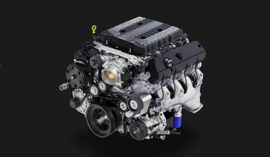 محرك سيارة كمارو ZL1