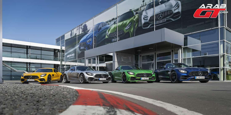 سيارات مرسيدس AMG GT