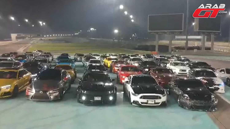 تجمع سيارات معدلة