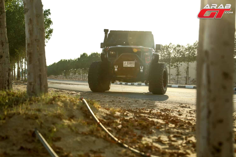 سيارة جيب رانجلر سوبر تشارج