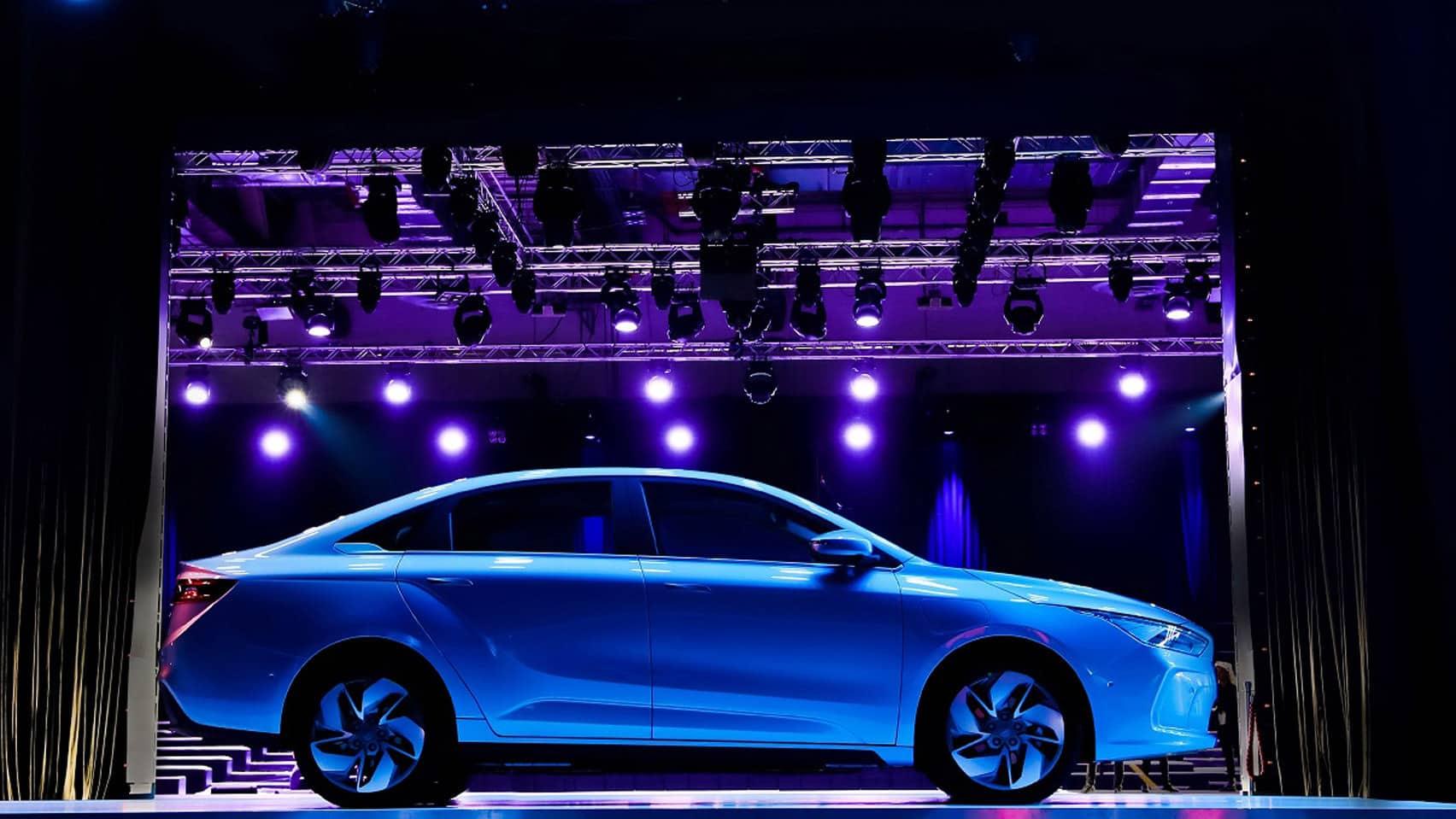 السيارات الصينية الكهربائية