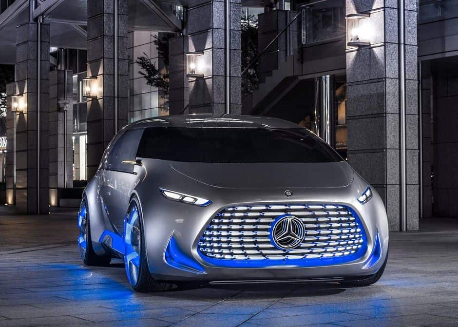 سيارات مرسيدس مستقبلية