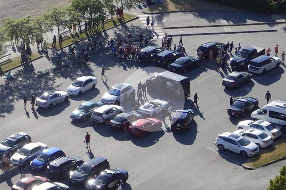 سيارة كورفيت كشف
