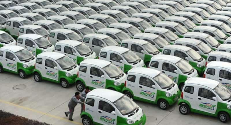 صناعة السيارات الصينية الكهربائية