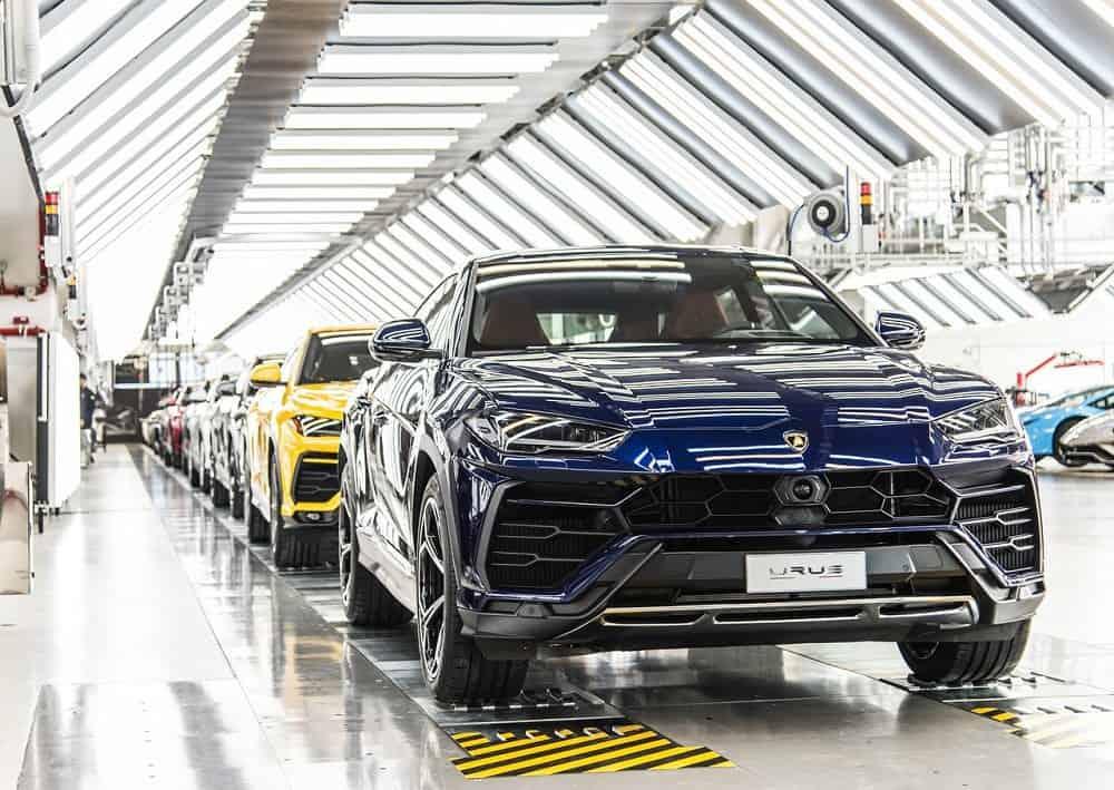مصنع لامبورجيني اوروس 2019