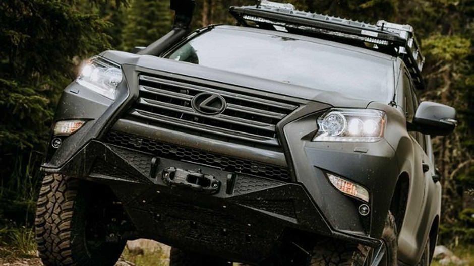 lexus gx off-road
