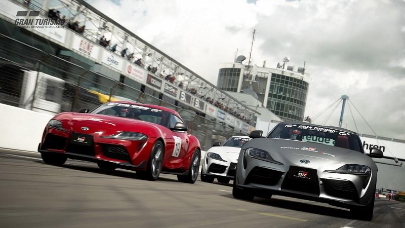 ألعاب السيارات تويوتا سوبرا جران توريزمو سبورت