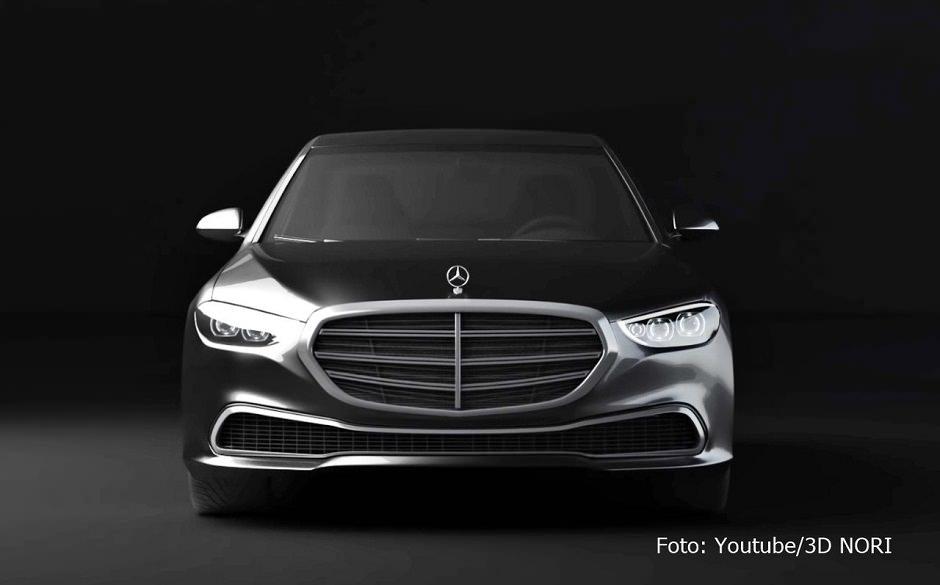 سيارة اس كلاس 2021