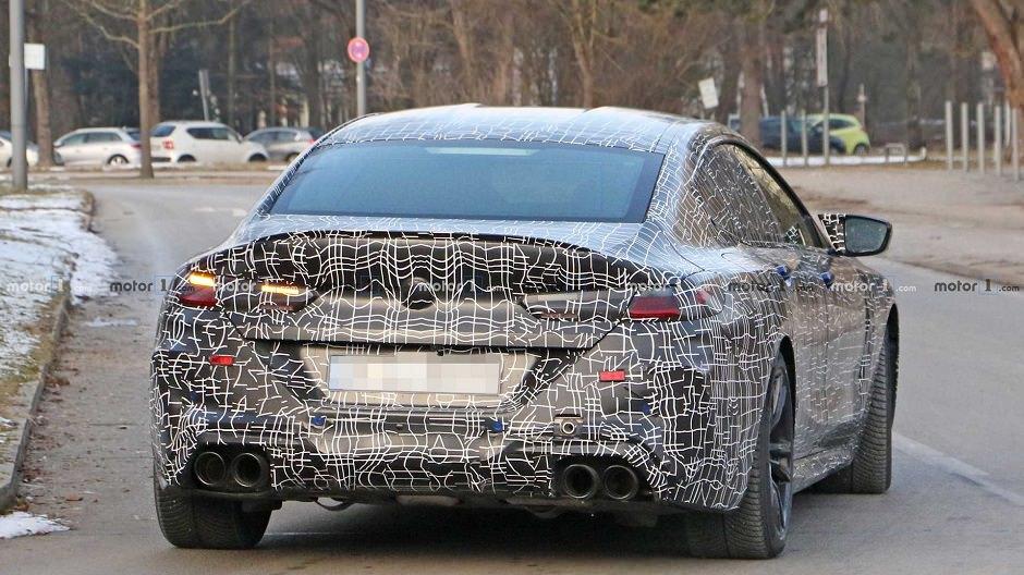 سيارة بي ام دبليو M8 جران كوبيه 2020