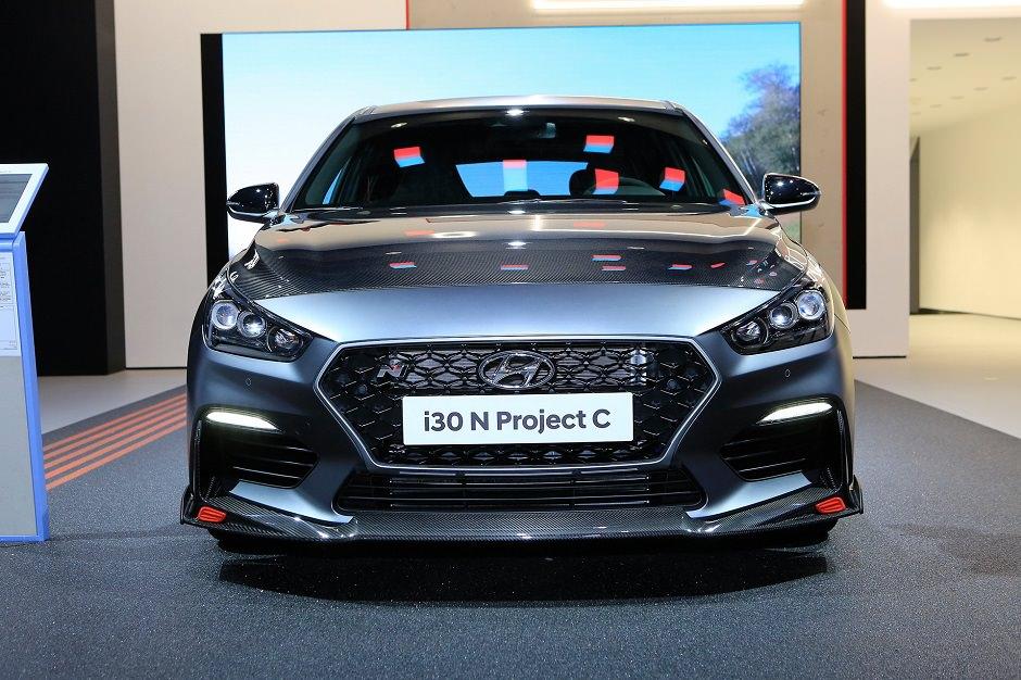سيارة هيونداي i30 N Project C