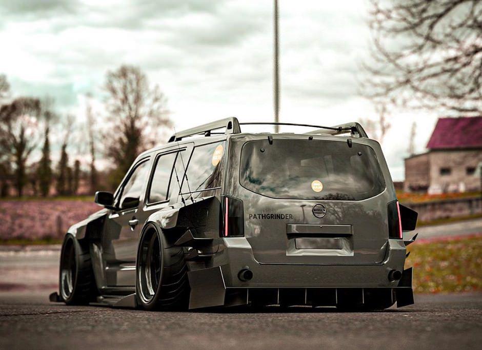 سيارة يابانية معدلة