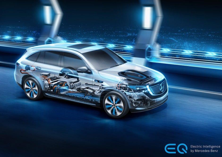 ميكانيك مرسيدس EQC 2020