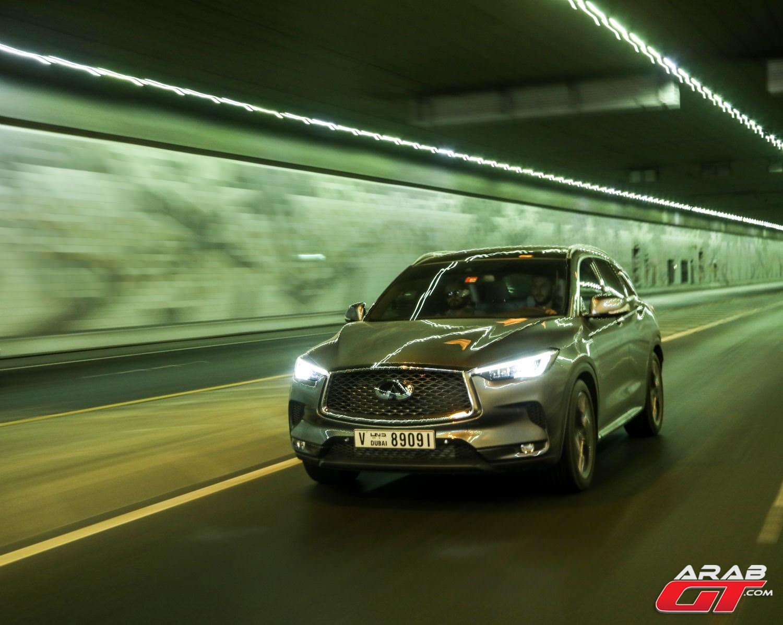 سيارة انفينيتي QX50 الجديدة (1)