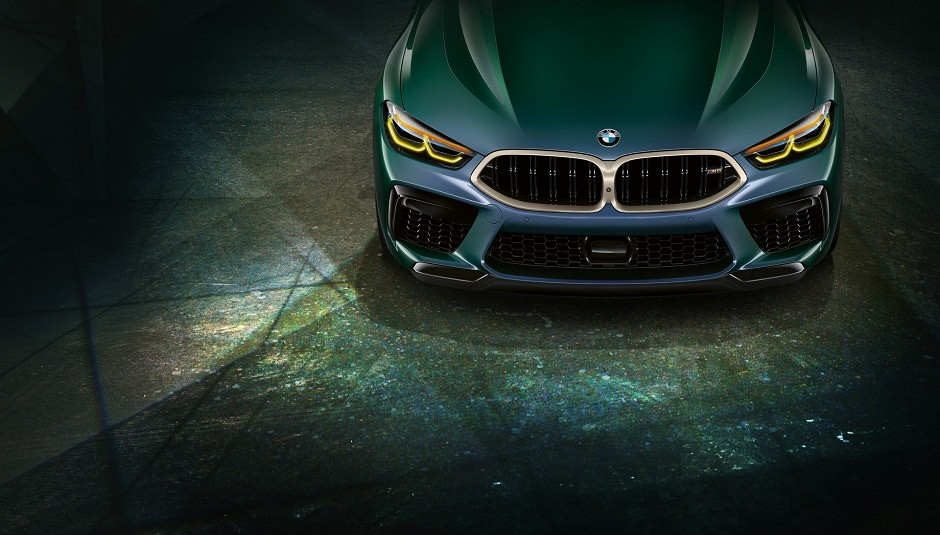 شبك BMW M8 جران كوبيه