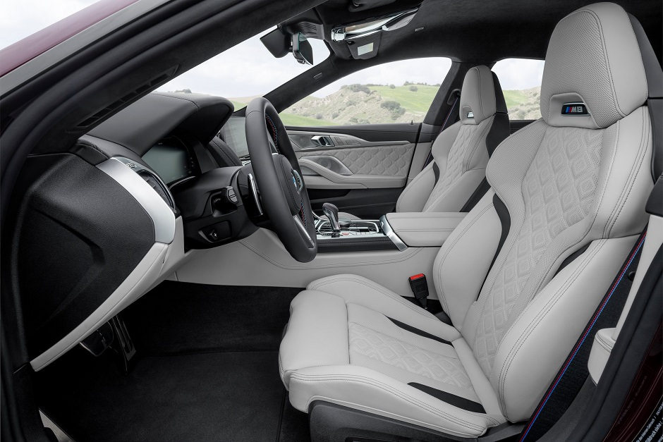 كراسي BMW M8 جران كوبيه 2020