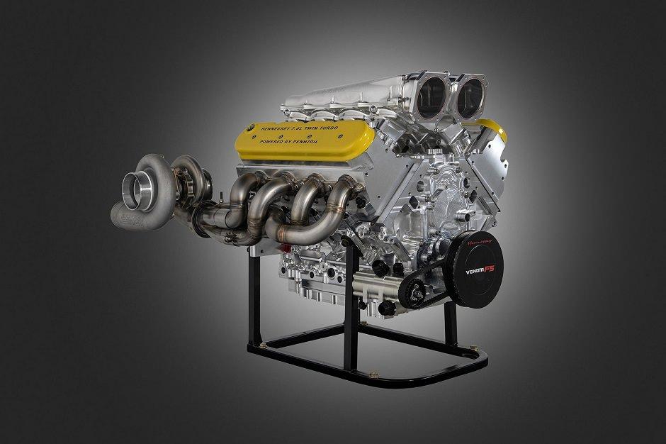 محرك-اسرع-سيارة-في-العالم