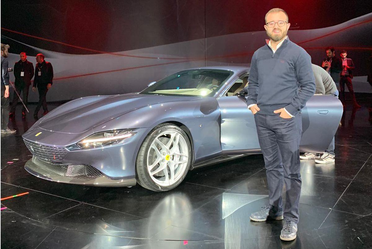 سيارة فيراري روما الجديدة 2020