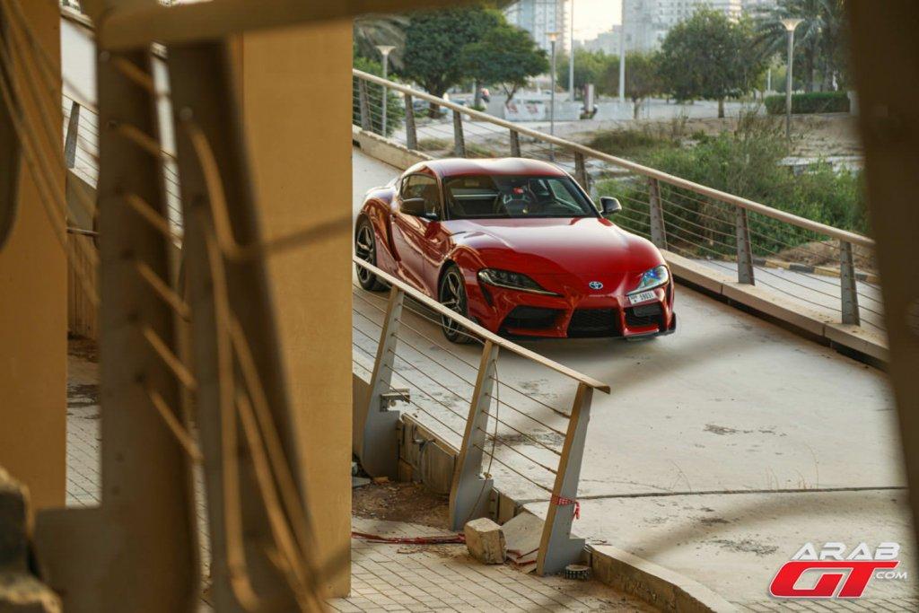 سيارة تويوتا سوبرا جديدة