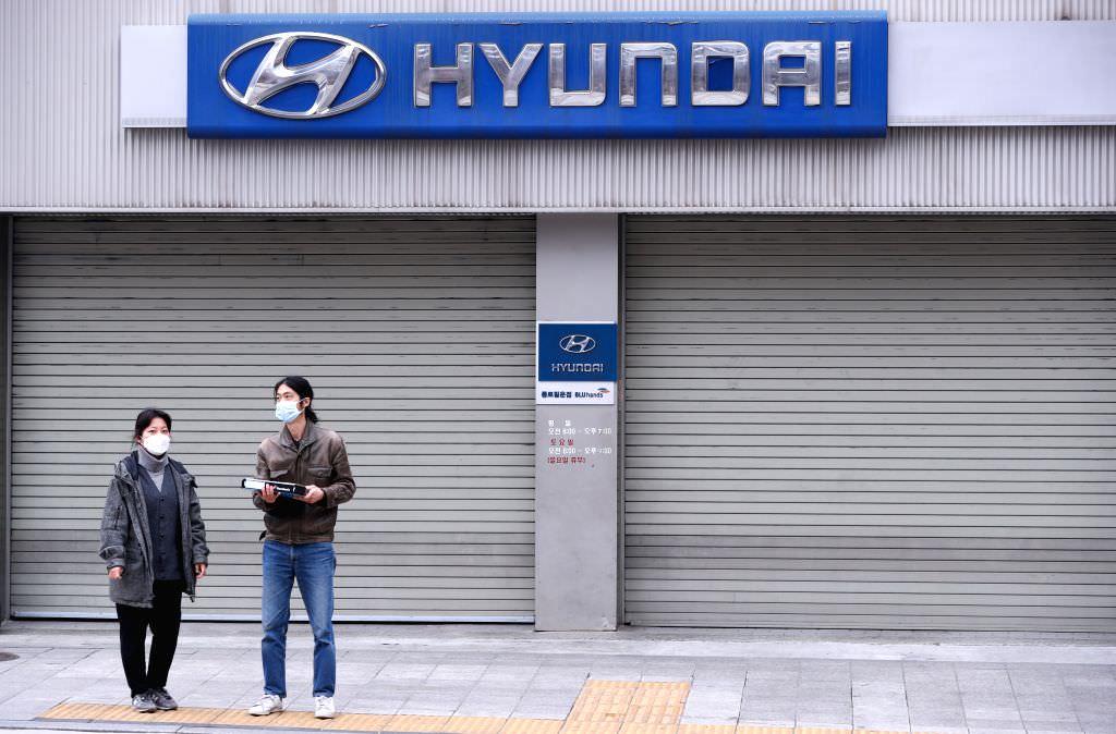مبيعات شركة هيونداي تنخفض إلى أدنى مستوى لها بسبب فيروس كورونا