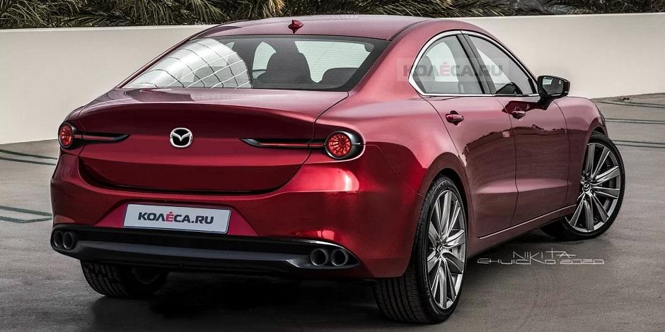 سيارة مازدا 6 2023 الجديدة كلياً تظهر في أول صور رقمية ...
