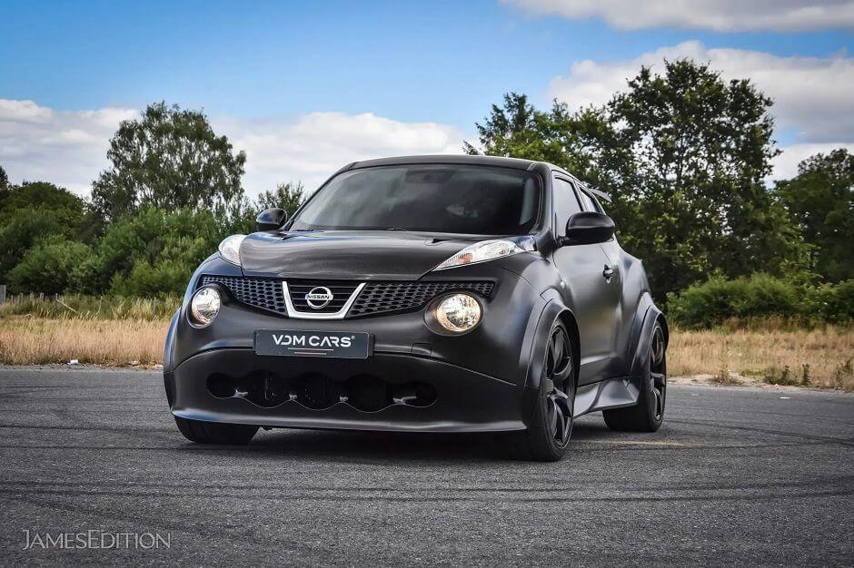 نيسان جوك ار معدلة ونادرة معروضة للبيع بـ سعر سيارتي فيراري 2020 عرب جي تي