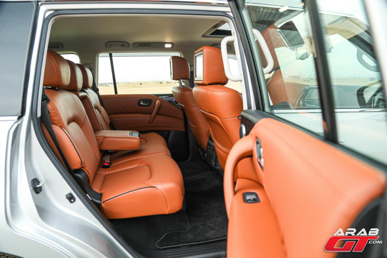 مقاعد سيارة نيسان باترول 2020