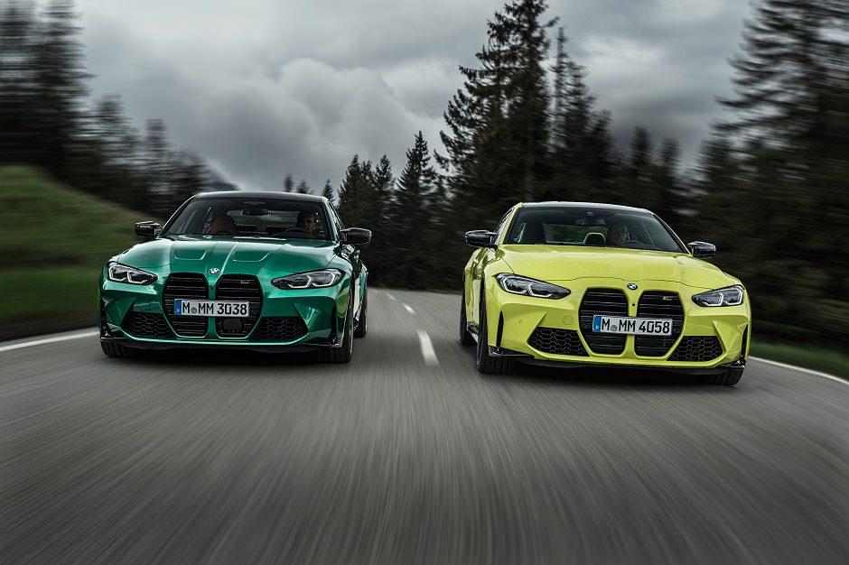 صور أحدث سيارات BMW M3 و  BMW M4