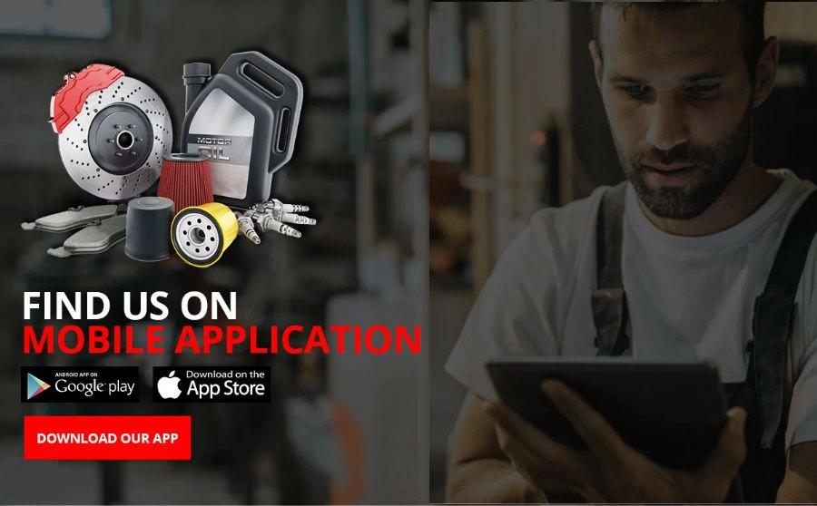 موقع و تطبيق Aeper للهواتف الذكية المكان الأفضل لشراء قطع غيار السيارات على الأنترنت