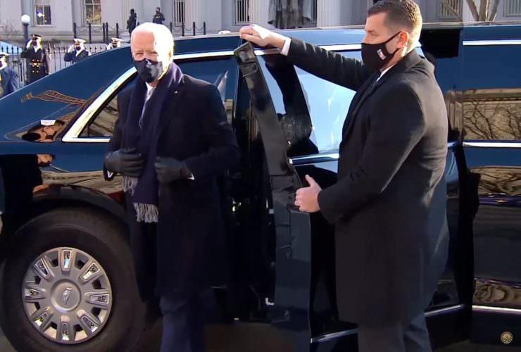 سيارة الرئيس الأمريكي جو بايدن