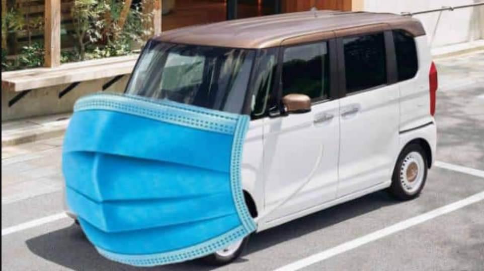 هوندا تخترع كمامة للسيارات قادرة على القضاء على فايروس كورونا