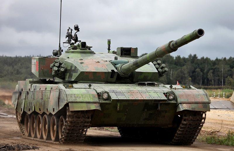 الدبابات الصينيى تايب 96
