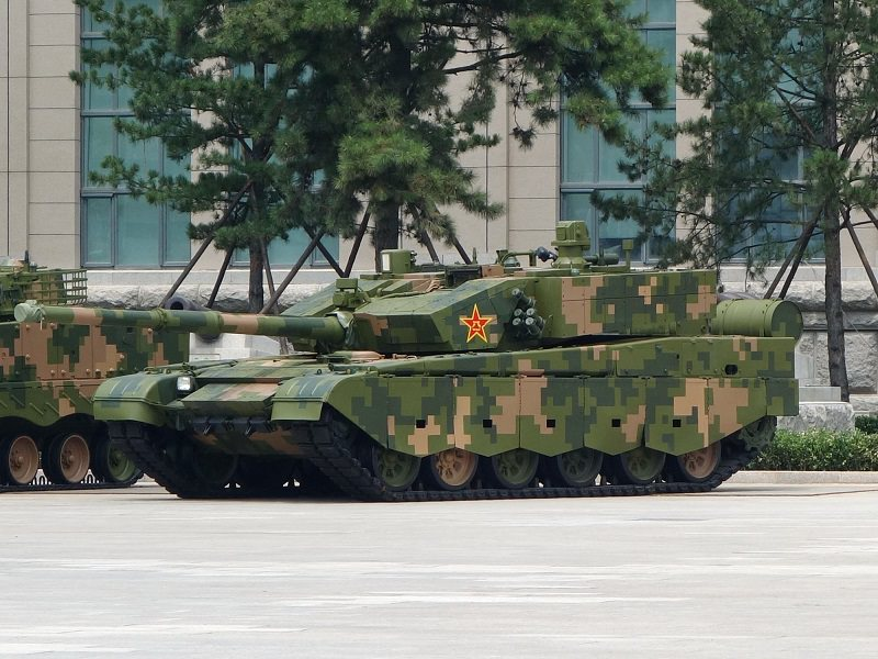 الدبابات الصينية 99