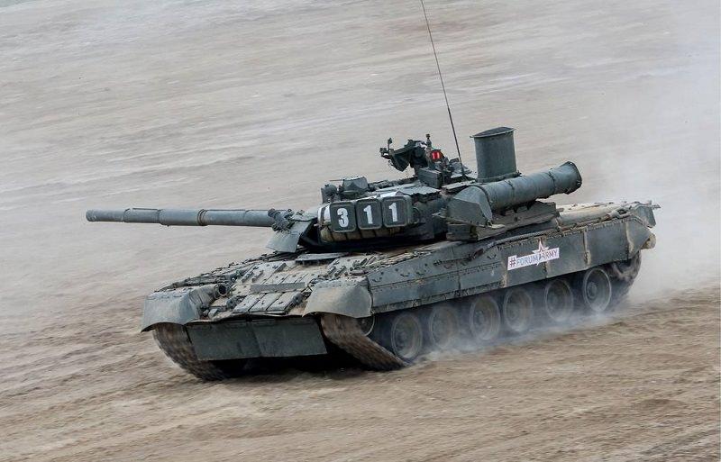 الدبابات الروسية تي 80